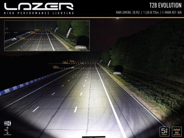 Купити Світлодіодна балка Lazer T28 Evolution 0028-EVO-B