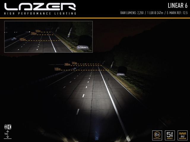 Купити Світлодіодна балка Lazerlamps Linear-6 Std 0L06-LNR