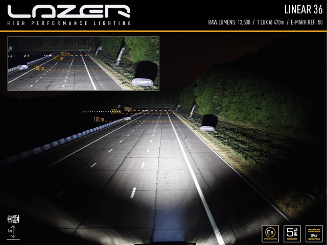 Купити Світлодіодна балка Lazer Linear-36 0L36-LNR