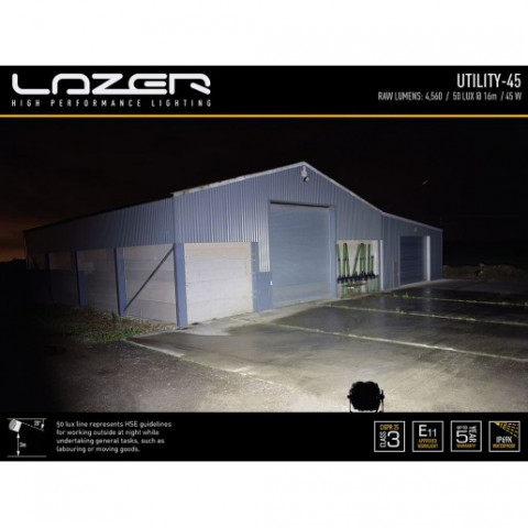 Купить Прожектор светодиодный Lazer Utility 45 00U45