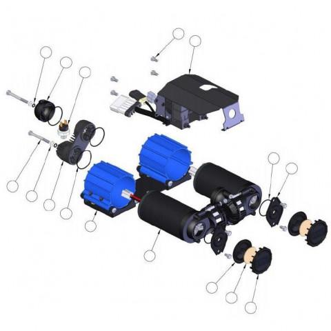 Купити Сервісний Комплект до поршня компресора CKMA ARB 320302