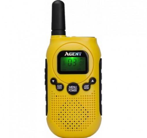 Купити Портативна рація AGENT AR-T6 Yellow PMR446 Гр8713