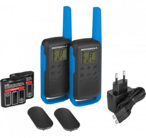 Купити Портативна рація Motorola TALKABOUT T62 BLUE TWIN PACK & CHGR WE Гр7831