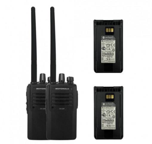 Купить Комплект портативных раций Motorola VX-261-D0-5 (CE) VHF 136-174 МГц Professional Гр9454