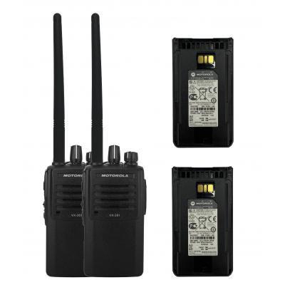 Купити Комплект портативних рацій Motorola VX-261-D0-5 (CE) UHF 403-470 МГц Premium Гр9457