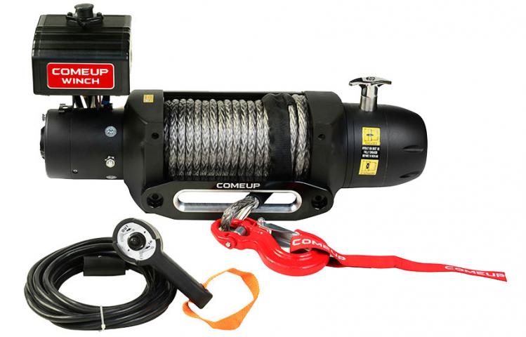 Купить Лебедка электрическая Come-up Seal Gen2 12,5s - 12 вольт / 5670 кг - 12500 lb