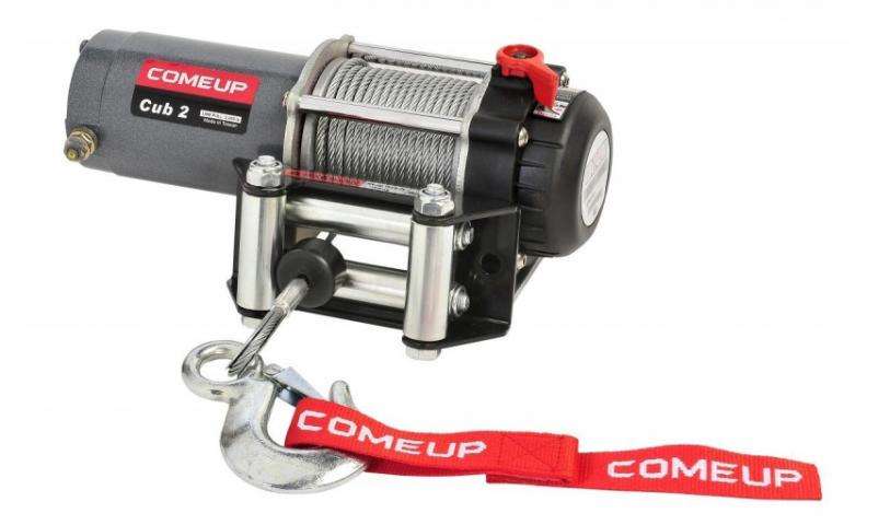 Купить Лебедка для квадроциклов и снегоходов Come-up ATV cub 2 std - 12 вольт - 907 кг - 2000 lb