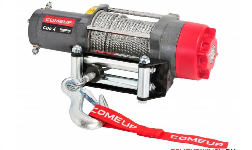 Купить Лебедка для квадроциклов и снегоходов Come-up ATV cub 4 std - 12 вольт - 1814 кг - 4000 lb