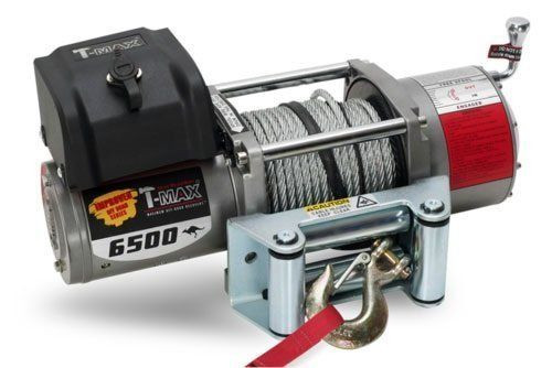 Купить Лебедка автомобильная T-Max EW-6500 - 12 вольт / 2950 кг - 6500 lb IMPROVED OFF ROAD