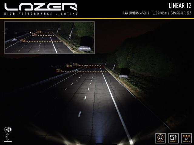 Купити Світлодіодна балка Lazer Linear-12 0L12-LNR