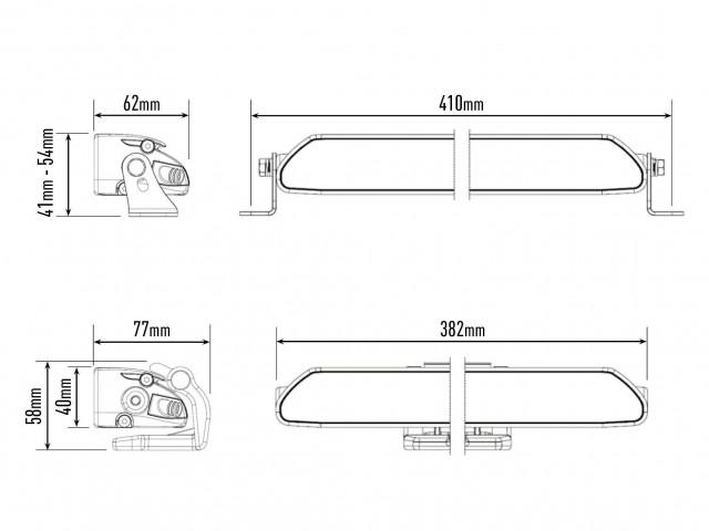 Купить Светодиодная балка Lazerlamps Linear-12 Elite 0L12-LNR-EL