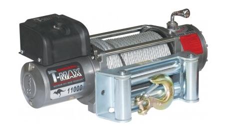 Купить Лебедка электрическая T-Max EW-11000 - 12 вольт / 4985 кг - 11000 lb IMPROVED OFF ROAD