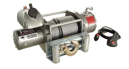 Купить Лебедка автомобильная T-Max EW-15000 - 12 вольт / 6800 кг - 15000 lb IMPROVED OFF ROAD
