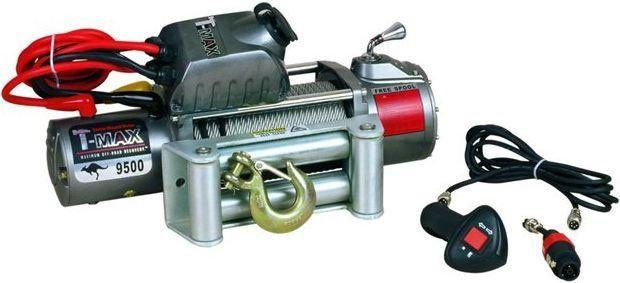 Купить Лебедка автомобильная T-Max EW-9500 - 12 вольт / 4305 кг - 9500 lb OUTBACK