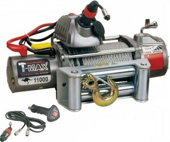Купить Лебедка автомобильная T-Max EW-11000 - 12 вольт / 4985 кг - 11000 lb OUTBACK