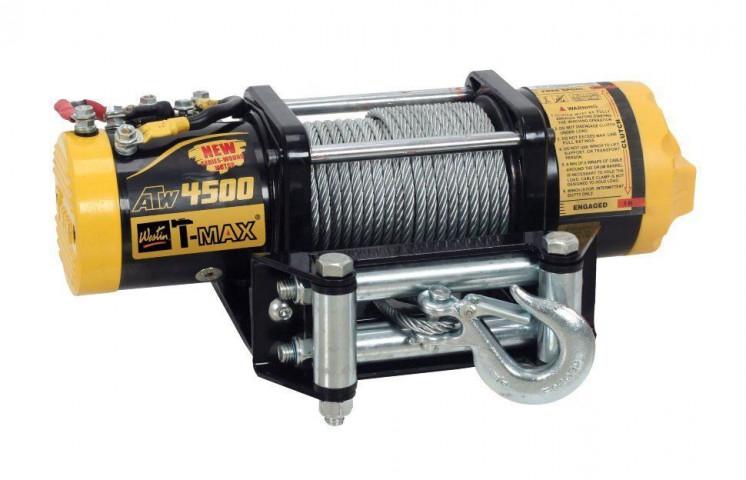 Купить Лебедка для квадроцикла T-Max ATWPRO 4500 - 12 вольт / 2040 кг - 4500 lb