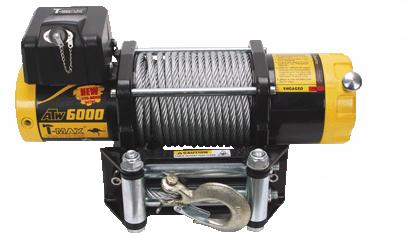 Купить Лебедка для квадроцикла T-Max ATWPRO 6000 - 12 вольт / 2720 кг - 6000 lb