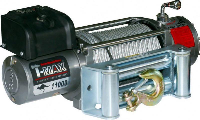 Купити Лебідка автомобільна T-Max EW-11000 - 24 вольт / 4985 кг - 11000 lb IMPROVED OFF ROAD