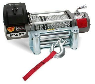 Купити Лебідка електрична T-Max EW-12500 - 12 вольт / 5665 кг - 12500 lb IMPROVED OFF ROAD