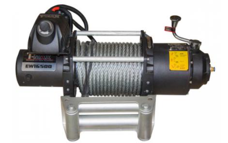Купити Лебідка автомобільна T-Max FEW-16500 - 24 вольт / 7480 кг - 16500 lb Fire Work series
