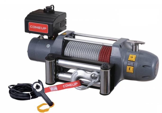 Купить Лебедка автомобильная Come-up Seal DS-9,5 - 12 вольт - 4309 кг - 9500 lb