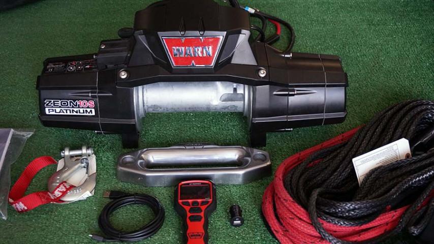 Купити Лебідка електрична WARN ZEON 10-S Platinum - 12 вольт - 4536 кг