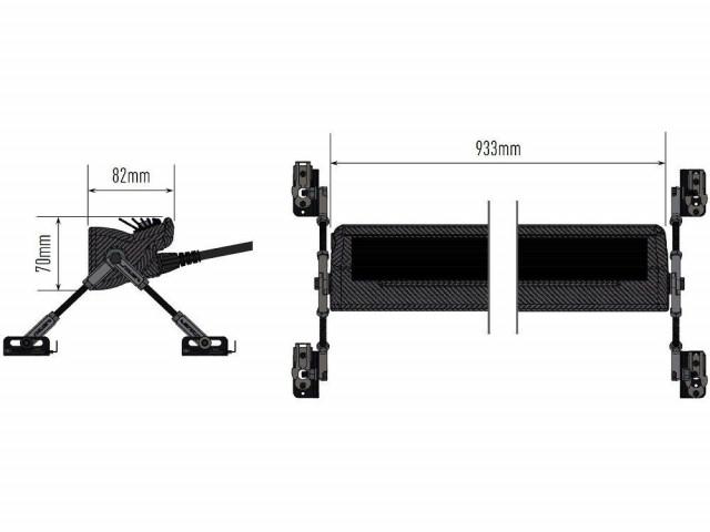 Купити  Світлодіодна балка Lazerlamps Carbon-16 00C16-Comp