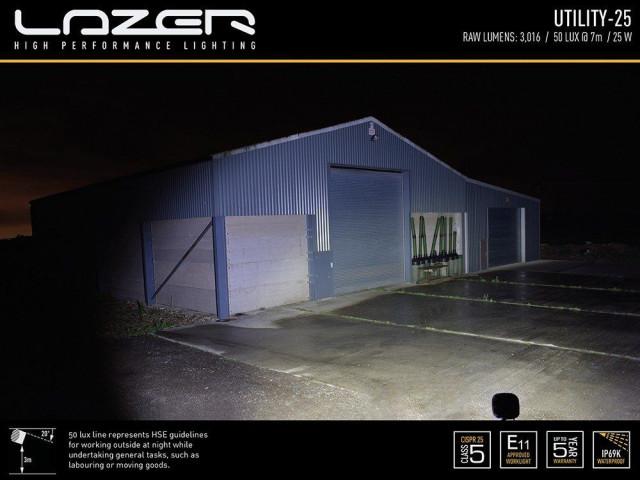 Купить  Прожектор светодиодный LazerLamps Utility-25 00u25-b
