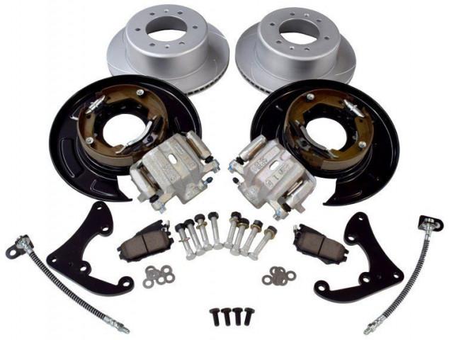 Купить Комплект конверсии задних барабанных тормозов в дисковые Pedders для Toyota Hilux 2005-2008 PBCK008