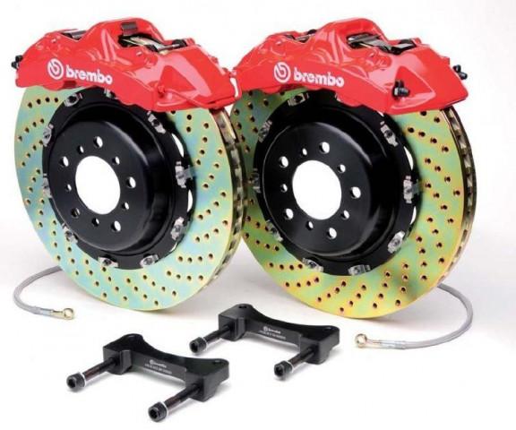 Купить Тормозная система передняя BREMBO Gran Turismo для Range Rover Sport 05+ 1N1.9515A2