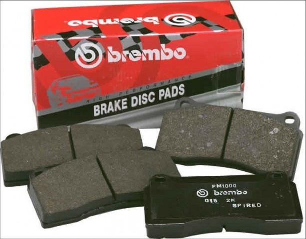 Купити Комплект посилених гальмівних колодок BREMBO GT 107.8365.21