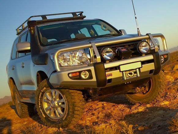 Купити Передній бампер ARB Deluxe для Toyota LC-200 07-12 для рідних омивачів фар 3415120