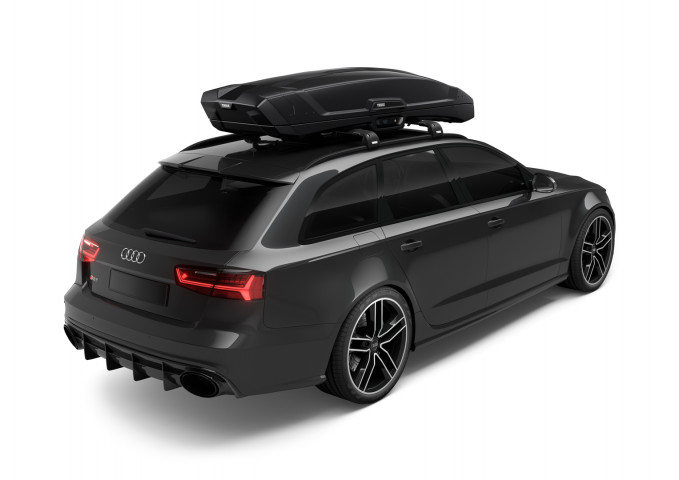 Купить Бокс Thule Vector L Black 430 литров