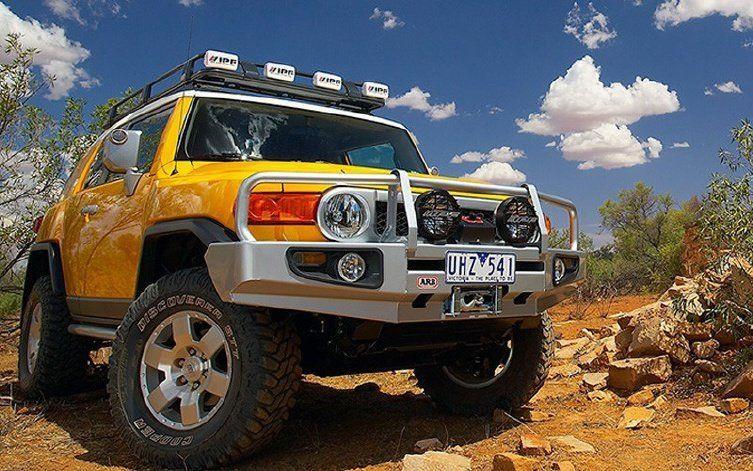 Купити Додатковий інсталяційний к-кт до переднього бампера ARB 3420210 для Toyota FJ-Cruiser до 2010 352001
