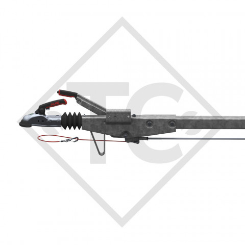 Купити Дишло пряме чотирикутне AL-KO 60S/2 R4 750 кг 2407мм