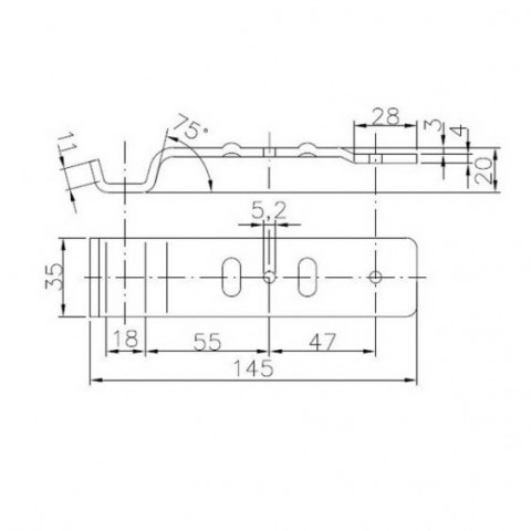 Купити Відповідна частина бортовий засувки Winterhoff BVG 20-B