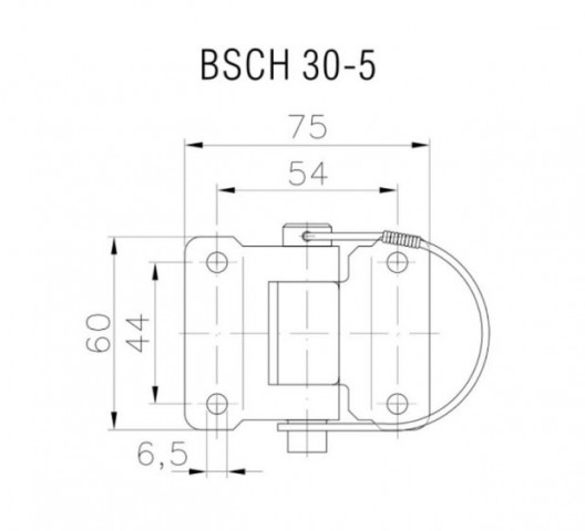 Купити Петля борту Winterhoff BSCH 30-5