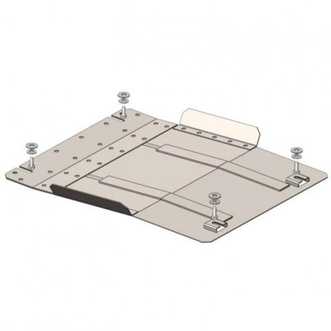 Купити Захист КПП Kolchuga для Mitsubishi L200 2015-2019 2.4TDI