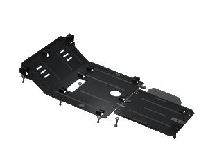 Купить Защита двигателя КПП радиатора раздатки редуктора Kolchuga для Nissan Navara IV D23 2014-2019 2.3 DC