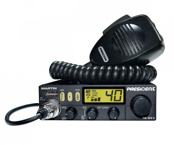 Купити Радіостанція President Martin ASC AM/FM TXPR218
