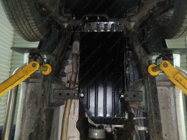 Купить Защита КПП РКПП Ford Ranger 2.2D от 2011 - Полигон-Авто