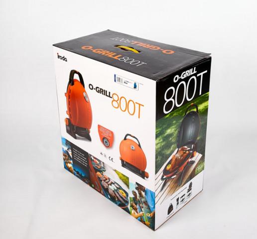 Купити Газовий гриль O-GRILL 800T