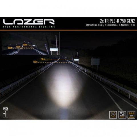 Купити Комплект оптики на Toyota Landcruiser 200 - LAZER GK-LC200-G2