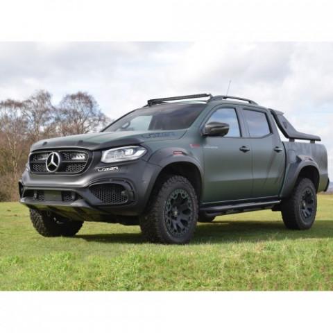 Купити Комплект оптики для Mercedes XCLASS з кріплення на дах без рейлинга LAZER 3001-XCLASS-WORR