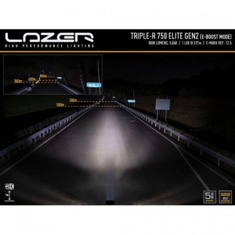 Купити Прожектор світлодіодний Lazer Triple-R 750 Elite GEN-2 00R4-G2-EL-B