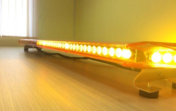 Купить Световая панель Стрела Ultra Slim 118-48LED желтый
