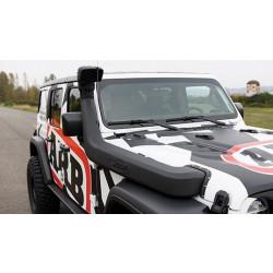 Купити Шноркель Safari для Jeep Wrangler JL ALL LHD 18+ ss1080hf