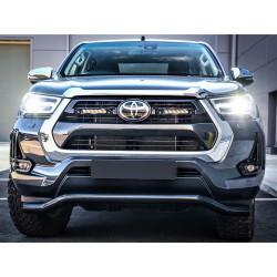 Купить Комплект оптики на Toyota Hilux 2021+ LAZER (в решетку радиатора)