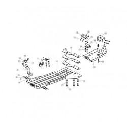 Купити Захист двигуна і трансмісії ARB для Jeep Wrangler 2007-2011 5450100