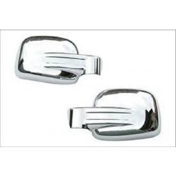 Купити Накладки на дзеркала хромована Wellstar Toyota Prado 03+